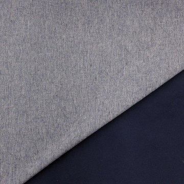 Softshell - jeans blauw