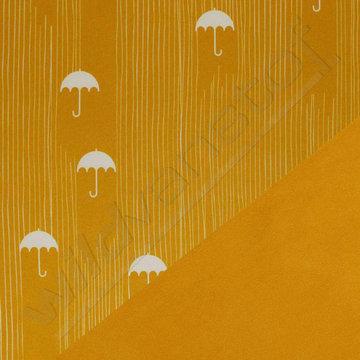 Softshell - Paraplu oker