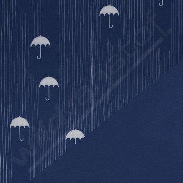 Softshell - Paraplu blauw