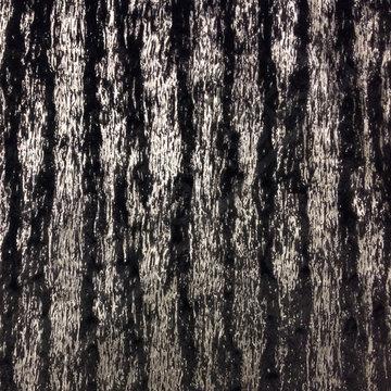 Pels - strepen zilver zwart