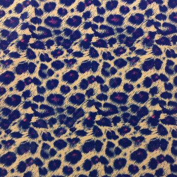 Velvet luipaard paars-roze