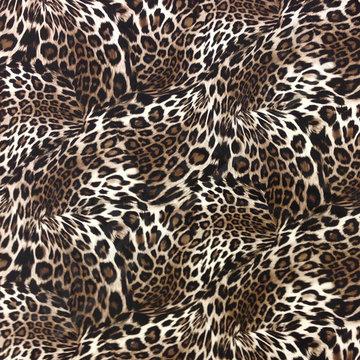 Skai - luipaardprint bruin