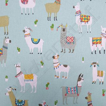 Canvas - Alpaca op munt
