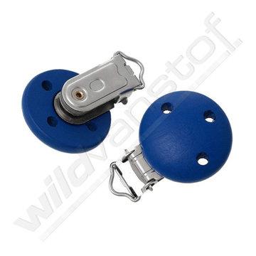 Fopspeen clip blauw