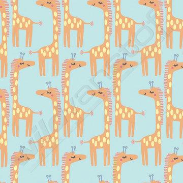 Flanel - Giraffen