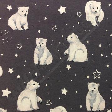 Tricot - Ijsberen op grijs