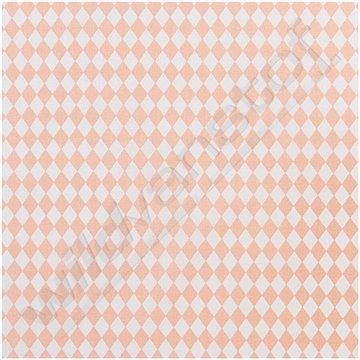 Katoen - Ruiten roze wit
