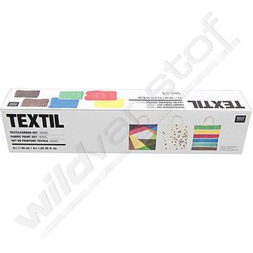 Textielverf - basiskleuren