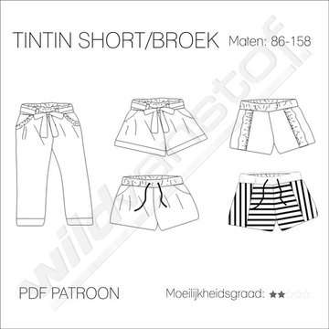 Iris May - Tintin short/broek