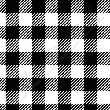Tricot - Elvelyckan plaid zwart-wit