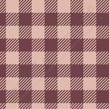 Tricot - Elvelyckan plaid bordeaux-roze