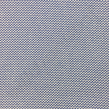 Boordstof - Carreaux Blauw-wit
