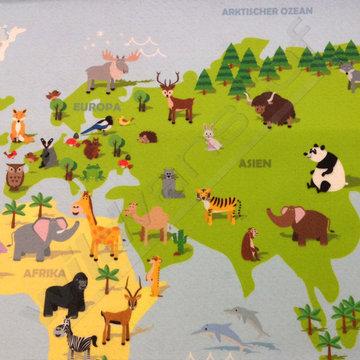Vilt - Speelmat wereldkaart