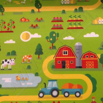 Vilt - Speelmat boerderij