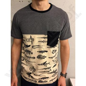 Stoffenpakket: Isaac t-shirt mannen 2