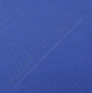 Piqué - Polostof koningsblauw