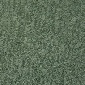 Badstof stretch - Donker grijsgroen 22