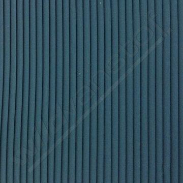 Plisse - Teal blauw