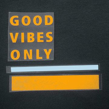 Applicatie flex - Good vibes only summer