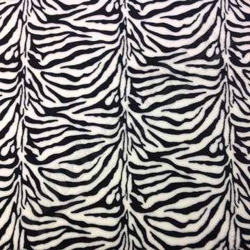 Wellness fleece - Zebraprint