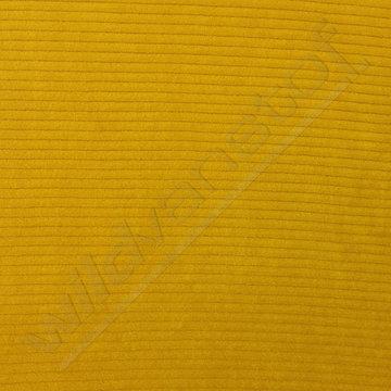 Tricot fluweel - Oker-geel