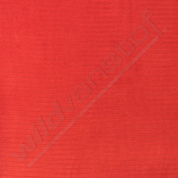 Tricot fluweel - Oranje-rood