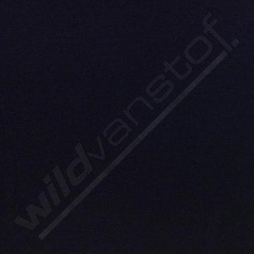 Coupon/ Broekstof Bertha - Effen marineblauw