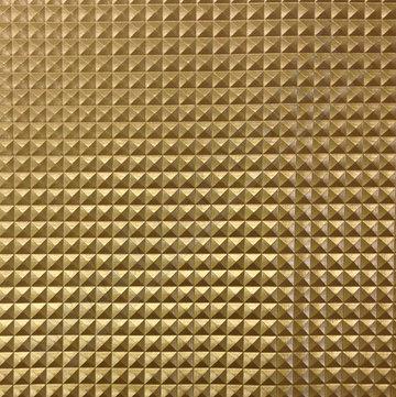 Skai - Gouden ruitjes relief