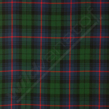 Viscose - Schotse ruit rood-groen