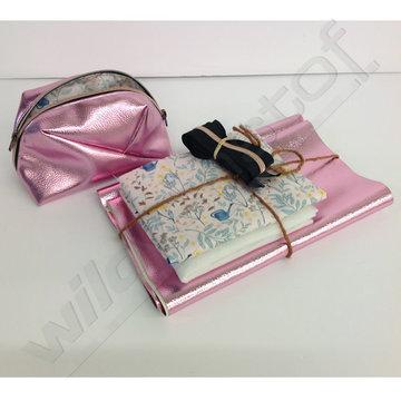 Stoffenpakket - Geo bag klein (roze)