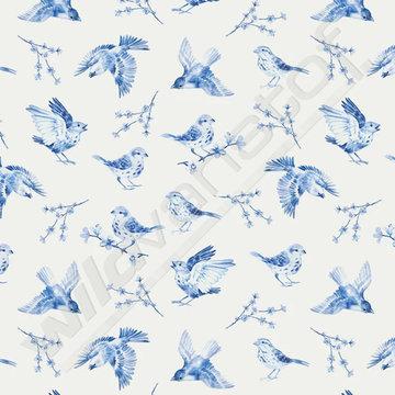 Tricot - Blue sparrow
