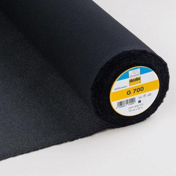 Vlieseline G700 Plakkatoen  - Zwart
