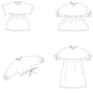 bel etoile vita jurk blouse