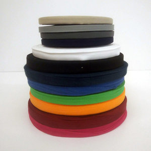 Keperlint katoen 10-15mm - kleuren