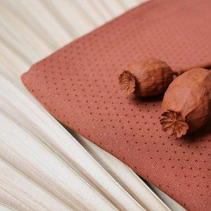 Viscose - Dobby chestnut