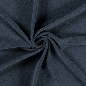 Badstof stretch - Donkerblauw 6