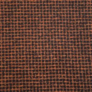 Wol - Bruin raster op zwart