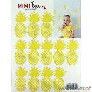 mimilou mimi'lou wall sticker stickers mural mureaux muursticker plakker wilvanstof stoffen online webshop kopen
