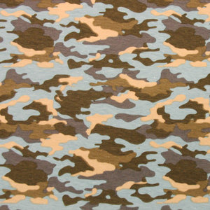 Sweater camouflage blauw groen - Wild van Stof | Stoffenwebshop ...