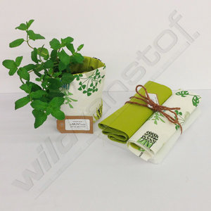 Stoffenpakket - Kleine plant