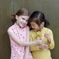 laure qipao jurk patroon pattern straightgrain kinder stoffen webshop online fabrics tissue shop