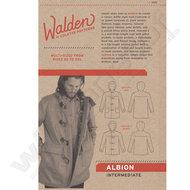 patronen patrone pattern online kortrijk west vlaanderen webshop soldeur wild van stof colette mannen vrouwen duffle coat jas v